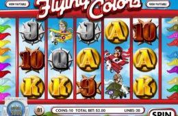 Jogo online grátis Flying Colors