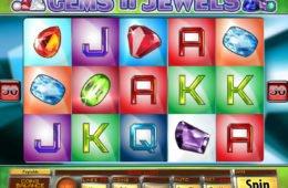 Caça-níqueis online Gems n Jewels para entretenimento