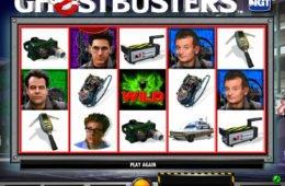 Caça-níqueis para diversão Ghostbusters