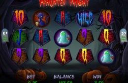 Caça-níqueis online grátis Haunted Night