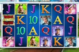 Caça-níqueis online grátis Lucky Horse para diversão