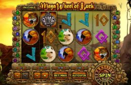 Caça-níqueis online Maya Wheel of Luck