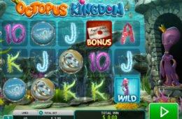 Caça-níqueis online para diversão Octopus Kingdom