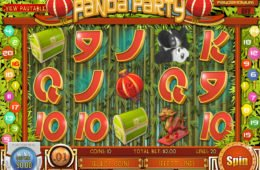 Caça-níqueis Panda Party da Rival Gaming