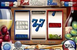 Jogo grátis de cassino Red, White and Bleu