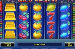 Caça-níqueis online Wild Respin sem depósito