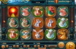 Jogo sem download 12 Zodiacs da Habanero