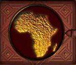 Símbolo disperso do jogo caça-níqueis Safari
