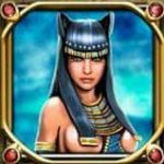 Símbolo curinga do jogo caça-níqueis de cassino Temple Cats