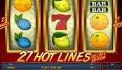 Jogo caça-níqueis de cassino grátis 27 Hot Lines Deluxe Edition