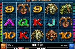 Caça-níqueis para diversão African Magic