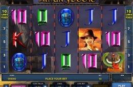 Uma foto do jogo caça-níqueis de cassino Amun's Book