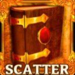 Símbolo disperso do caça-níqueis online grátis Amun's Book