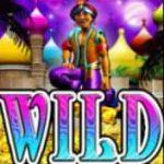 Símbolo curinga do jogo grátis online Arabian Charms