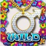 Símbolo curinga do jogo caça-níqueis de cassino Austin Powers