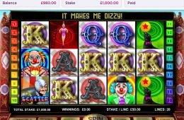 Uma foto do jogo grátis Big Top 20