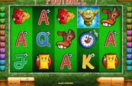 Uma foto do jogo caça-níqueis de cassino Football