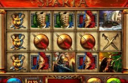 No deposit slot machine Fortunes of Sparta