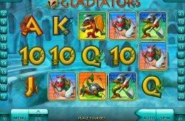 Jogo de cassino online grátis Gladiators