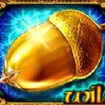 Símbolo curinga do caça-níqueis grátis Golden Acorn online