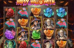 Casino slot machine Happy Halloween with no deposit