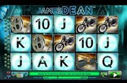Uma foto do jogo de cassino grátis James Dean