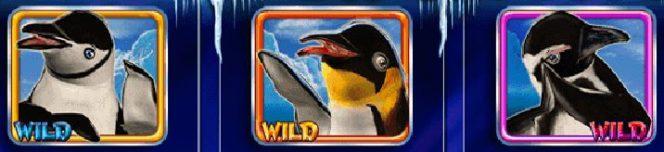 Curingas do jogo caça-níqueis online Lucky 3 Penguins