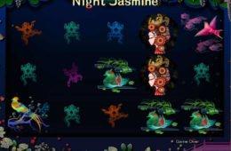 Jogo caça-níqueis online Night Jasmine