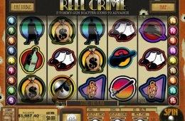 Caça-níqueis para diversão Reel Crime: Bank Heist