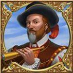 Símbolo curinga - Jogo caça-níqueis grátis online Sails of Gold