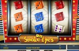 Caça-níqueis online grátis Snake Eyes