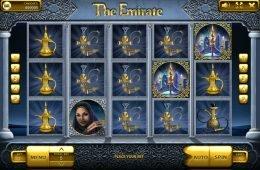 Gire o caça-níqueis online The Emirate
