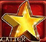 Símbolo disperso do jogo de cassino Wild Clover