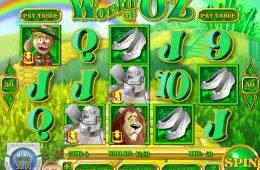 Jogue o caça-níques grátis World of Oz