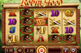 Jogue o jogo de cassino grátis Lady Robin Hood