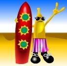 Símbolo Bônus do jogo grátis online Crazy Fruits da Atronic