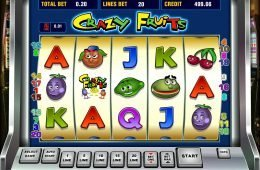 Jogue grátis o jogo de cassino online Crazy Fruits
