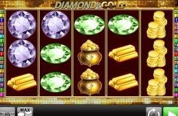 Caça-níqueis sem depósito Diamond and Gold