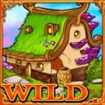 Símbolo Curinga do jogo caça-níqueis de cassino Wonder Tree