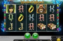 Gire o jogo caça-níqueis grátis online World of Wizard