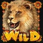 Símbolo Curinga do jogo caça-níqueis de cassino Happy Jungle