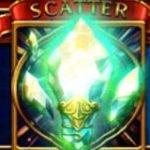 Símbolo Disperso do jogo grátis de cassino Hero´s Quest