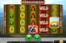 Uma foto do jogo caça-níqueis Horsemen