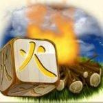 Símbolo curinga do jogo grátis de cassino Hunter´s Dice