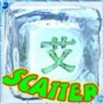 Símbolo Disperso do jogo caça-níqueis Ice Dice