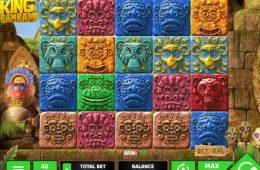 Uma foto do jogo grátis de cassino King Bambam