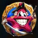 Símbolo disperso do jogo de cassino online Lucky Pirates