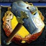 Símbolo disperso do caça-níqueis Thor´s Hammer