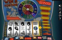 Jogo sem depósito Win a Fortune online