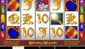 Uma foto do jogo caça-níqueis de cassino Winning Wizards